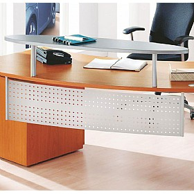 Elite Callisto Kidney Desk Curved Modesty Panel £124 - Office Desks