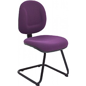 Asha Medium Back Visitor Chair £77 - Office Chairs