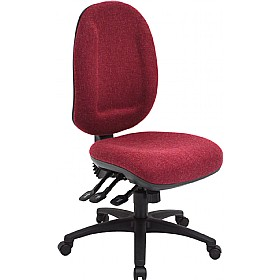 Asha 24 Hour Maxi Back Operator Chair £187 - Office Chairs
