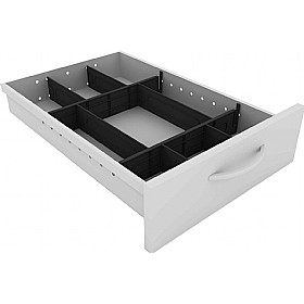 Elite Callisto System Pedestal Drawer Divider Kit £39 - Office Desks