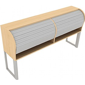 Elite Callisto Desk Top Tambour Units £616 - Office Desks