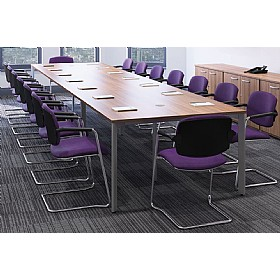 Sven X-Range Rectangular Conference Tables £429 - Meeting Room Furniture