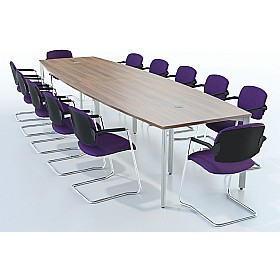 Sven X-Range Barrel Conference Tables £473 - Meeting Room Furniture