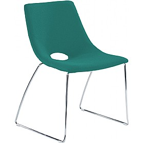 Saron Skid Base Visitor Chair £195 - Office Chairs