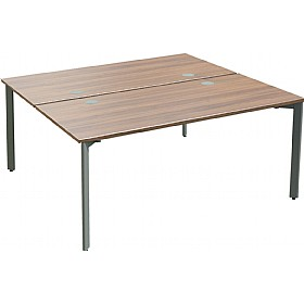 Sven X-Range Bench Rectangular Double Sided Starter Desk £407 - Office Desks