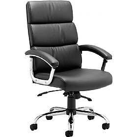 Malo Enviro Leather Executive Chair £149 - Office Chairs
