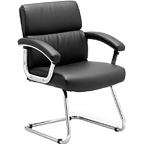 Malo Enviro Leather Visitors Chair £143 - Office Chairs