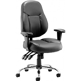 Tornado Enviro Leather Task Chair £136 - Office Chairs