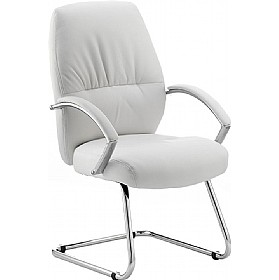 Convene Enviro Leather Meeting Chair £159 - Office Chairs