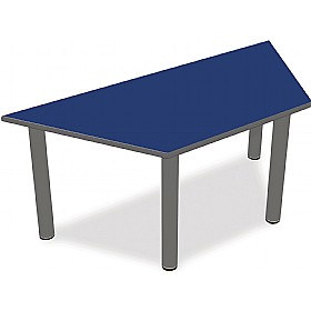 Scholar Super Heavy Duty Trapezoidal Cylinder Legged Tables With Light Grey Frame £0 - Education Furniture