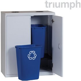 Triumph Metrix Recycling Cupboards £408 - Office Desks