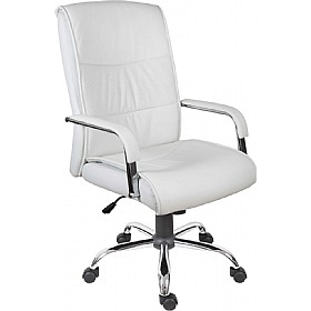 Cumbria Executive Office Chair White £119 - Office Chairs