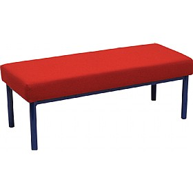 Scholar Children's Upholstered Three Seater Stool £0 - Education Furniture