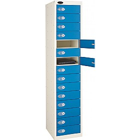 Premium Plus Laptop Storage Lockers With ActiveCoat £0 - Education Furniture