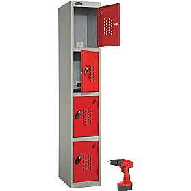 Premium Power Tool Charge Lockers With ActiveCoat £212 - Education Furniture