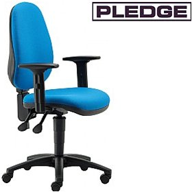 Pledge Two High Back Operator Chair £124 - Office Chairs