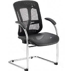 Carinosa II Mesh Cantilever Chair £179 - Office Chairs