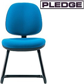 Pledge Two Medium Back Cantilever Visitor Chair £104 - Office Chairs