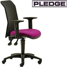 Pledge Air Mesh Back Custom Task Chair £139 - Office Chairs