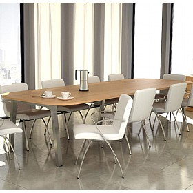 Elite Linnea Executive Double D-End Conference Tables £1250 - Office Desks