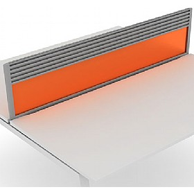 Elite Linnea Acrylic System Desktop Screens With Management Rail £0 - Office Screens
