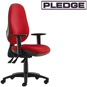 Pledge Topaz Maxi Back Operator Chair £164 - Office Chairs