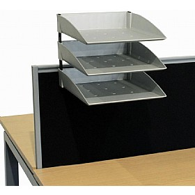 Elite Linnea System Screen A4 Pending Trays £88 - Office Desks