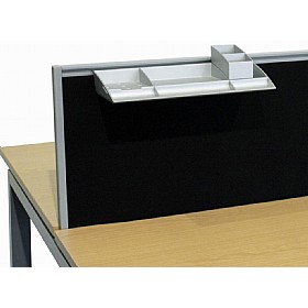 Elite Linnea System Screen Stationery Compartments £55 - Office Desks