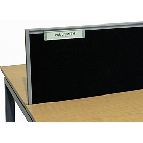 Elite Linnea System Screen Name Plate £32 - Office Desks