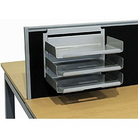 Elite Linnea System Screen Hanging Paper Trays £160 - Office Desks