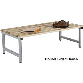Budget Freestanding Cloakroom Benches With Active Coat £0 - Education Furniture