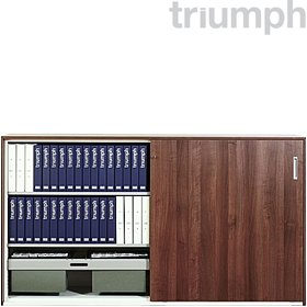 Triumph SuperGlider MFC Large Sliding Door Cupboards £962 - Office Desks
