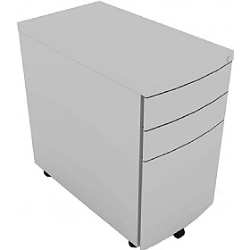 Elite Linnea Steel Narrow Mobile Pedestal £195 - Office Desks