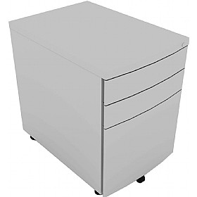 Elite Linnea Steel Mobile Pedestal £200 - Office Desks