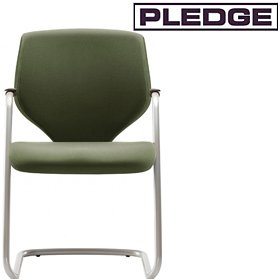 Pledge Quintessential Stackable Cantilever Visitor Chair £165 - Office Chairs