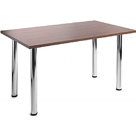 NEXT DAY Tubular Leg Tables Rectangular £0 - Meeting Room Furniture