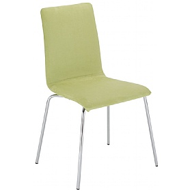 Latte A Plus Fabric Bistro Chair (Pack of 4) £74 - Bistro Furniture
