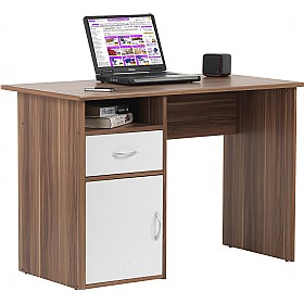 Minnesota Laptop Desk Walnut £84 - Computer Desks