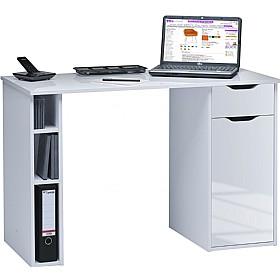 utah computer desk white white gloss static computer desks rh officefurnitureonline co uk computer desk white uk computer desk white finish