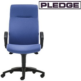 Pledge Pro-Activ High Back Custom Task Chair £287 - Office Chairs