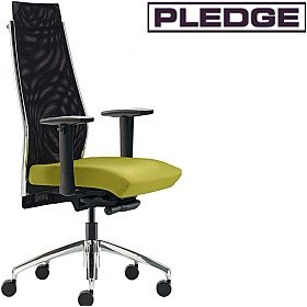 Pledge Plan Mesh High Back Executive Chair £350 - Office Chairs
