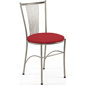 Fosca Fabric Bistro Chair (Pack of 4) £52 - Bistro Furniture