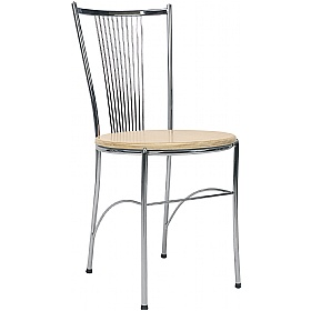 Fosca Wooden Bistro Chair (Pack of 4) £59 - Bistro Furniture