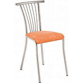 Baleno Fabric Bistro Chair (Pack of 4) £68 - Bistro Furniture