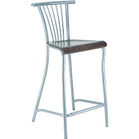 Baleno 78 Wooden Cafe/Bistro Stool (Pack of 4) £81 - Bistro Furniture