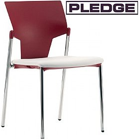 Pledge Ikon 4 Leg Conference Chair £99 - Office Chairs