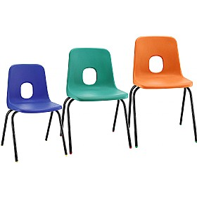 E-Series Polypropylene Chairs £12 - Education Furniture