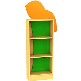 Tree Frog Tall Bookcase £306 - Education Furniture