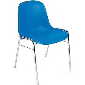 Beta Polypropylene Canteen Chairs (Pack of 4) £35 - Bistro Furniture