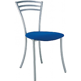 Molino Fabric Bistro Chair (Pack of 4) £61 - Bistro Furniture